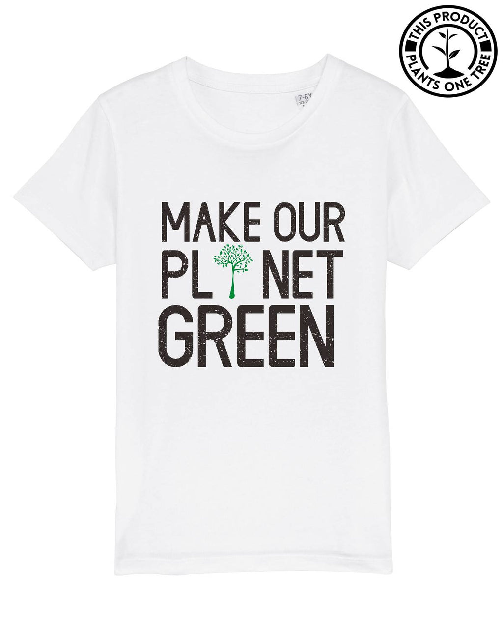 Green Planet Unisex T-shirt för barn
