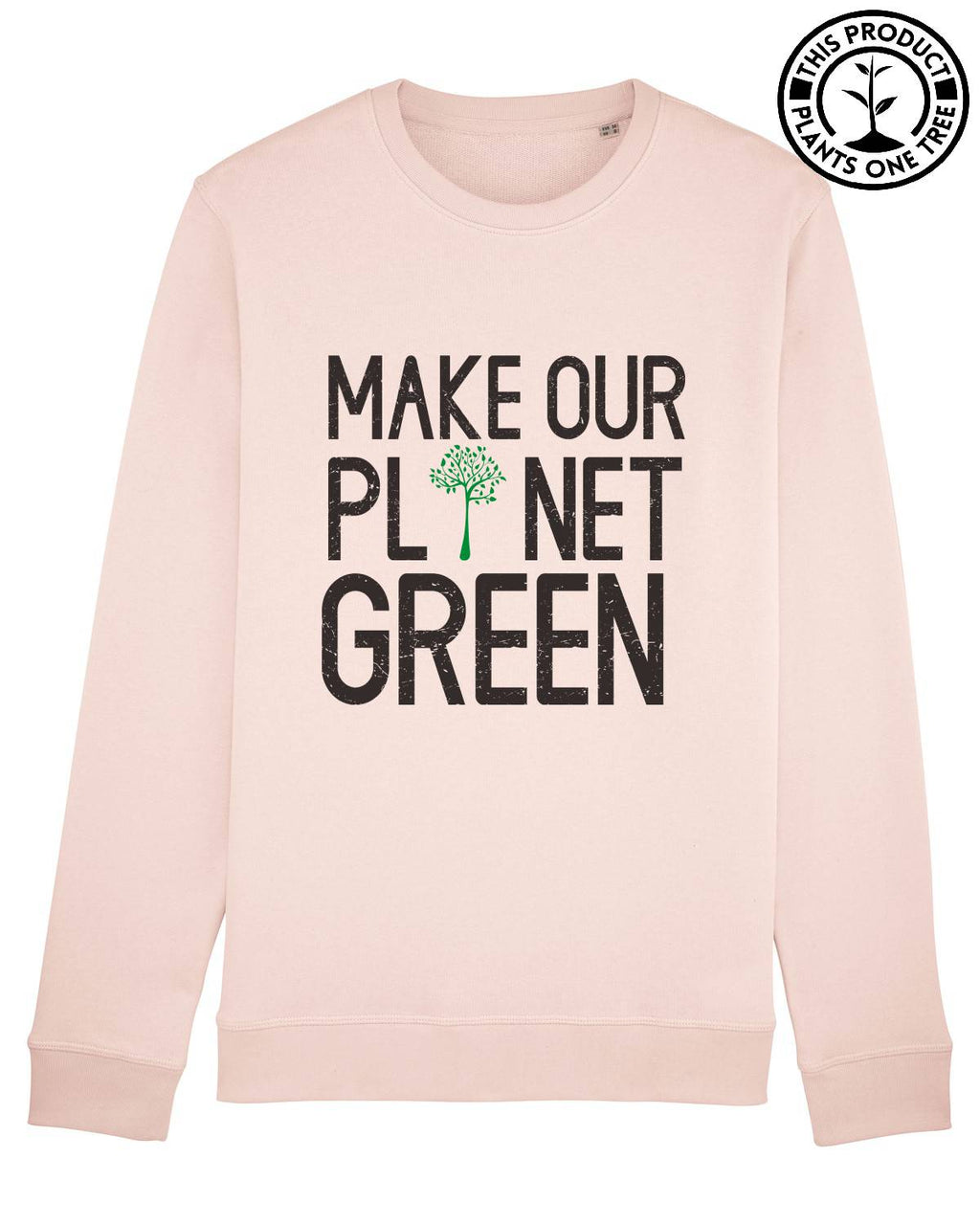Green Planet Unisex Sweatshirt
