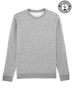Basic Unisex Sweatshirt Heather Grey
