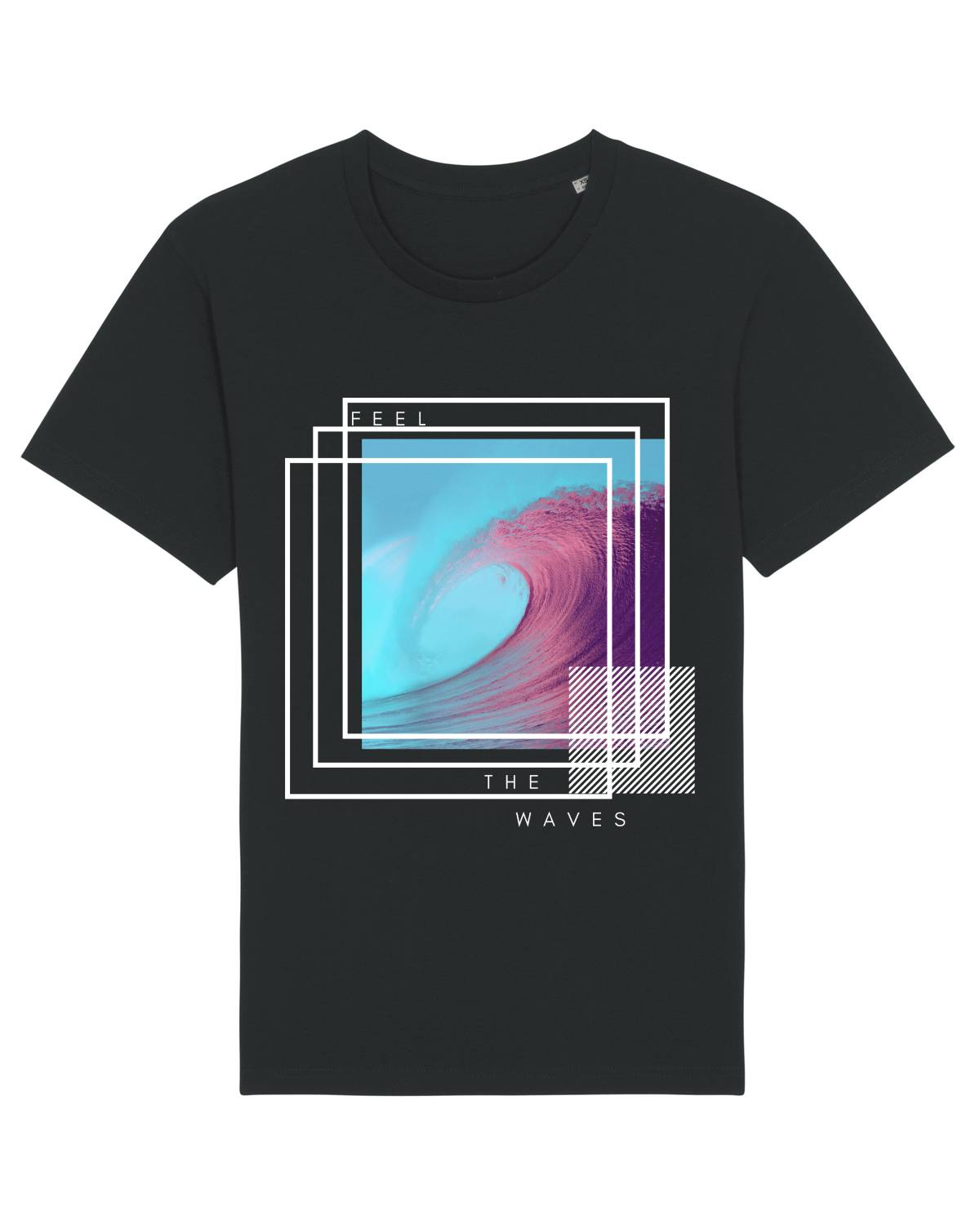 Feel the waves unisex T-shirt