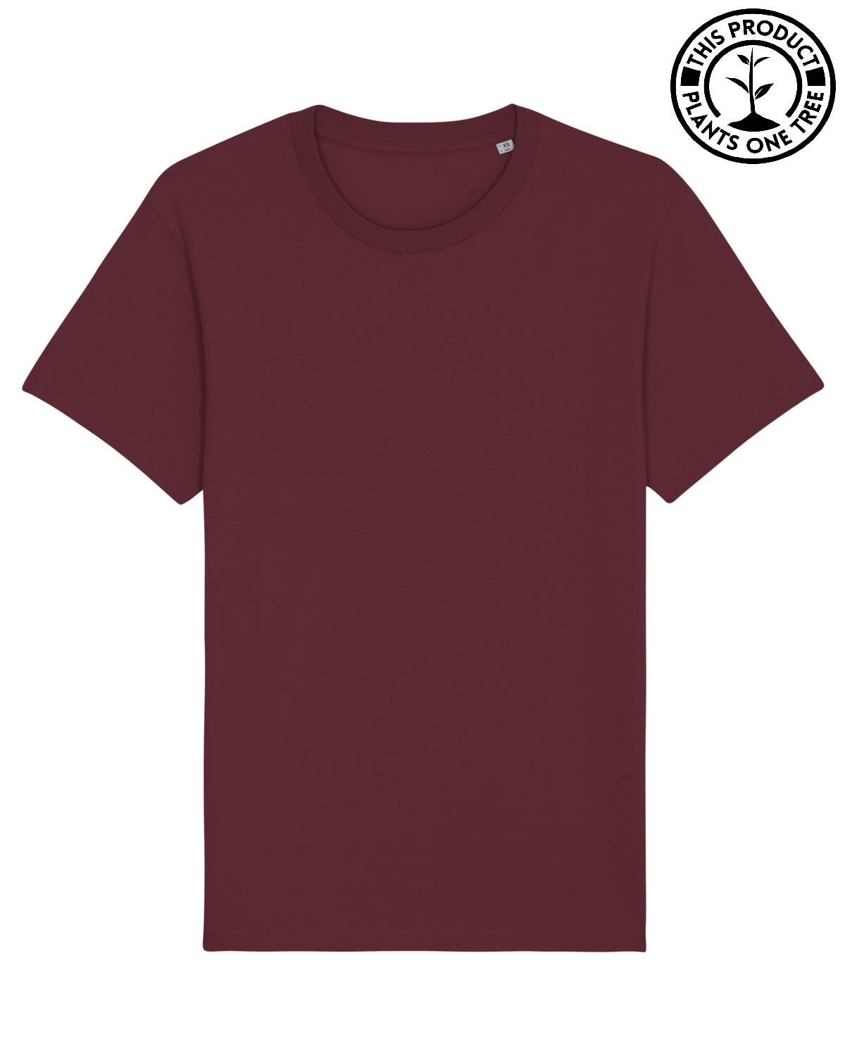 Basic Unisex T-shirt Burgundy
