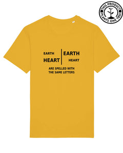 Earth/Heart Unisex T-shirt