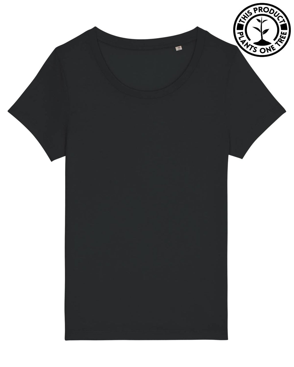Basic Feminine T-shirt Black