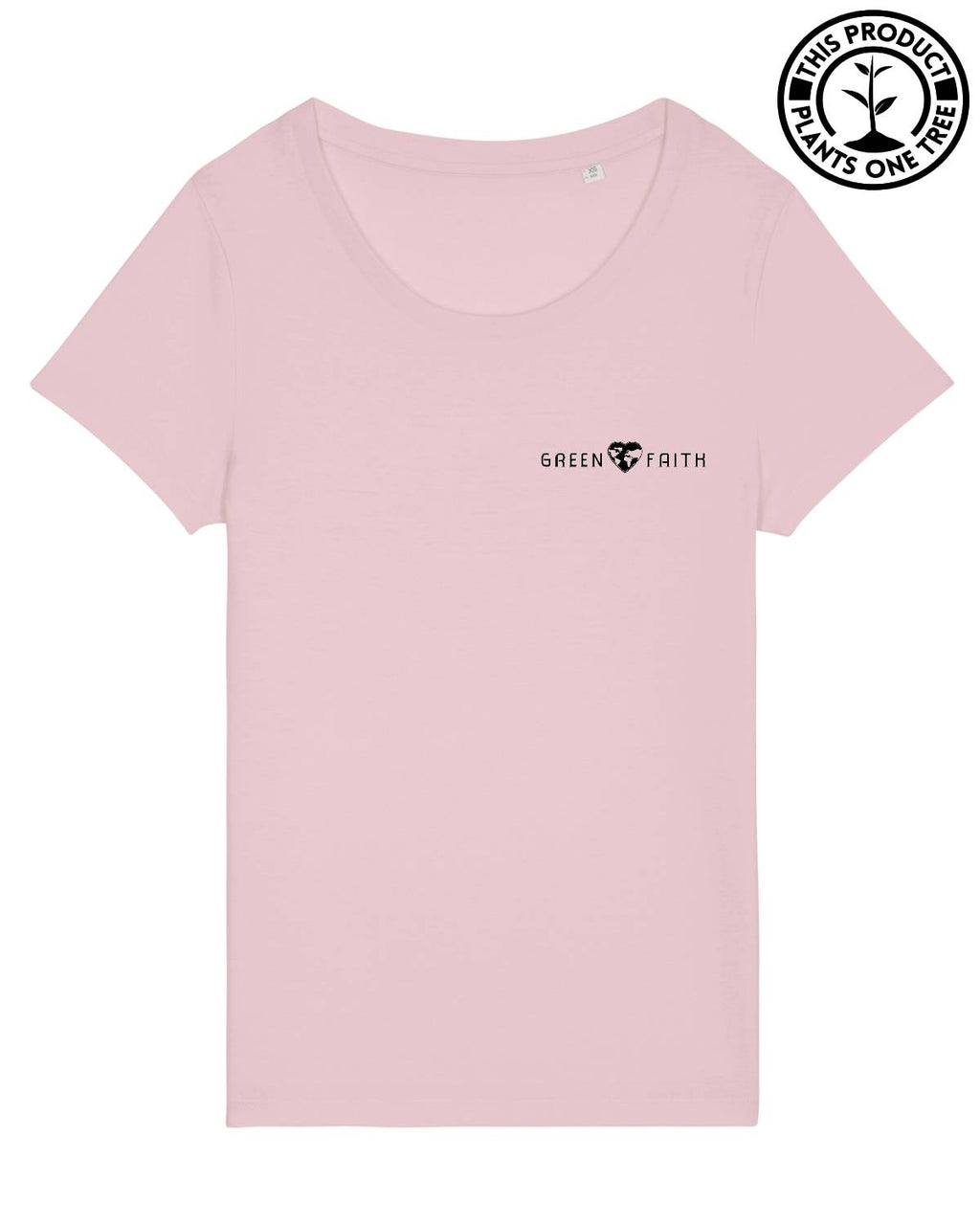 Logo Feminine T-shirt Cotton Pink