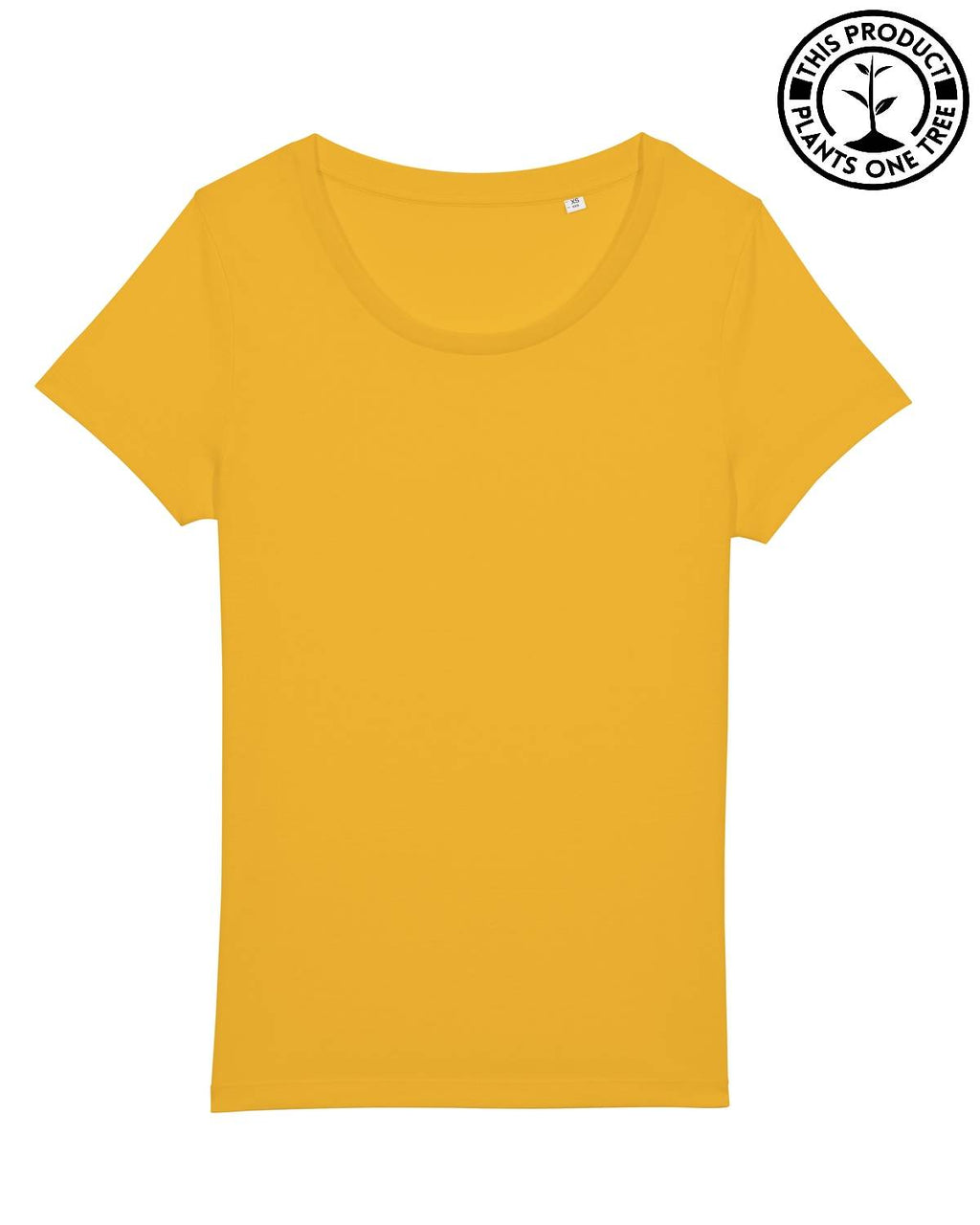 Basic Feminine T-shirt Spectra Yellow