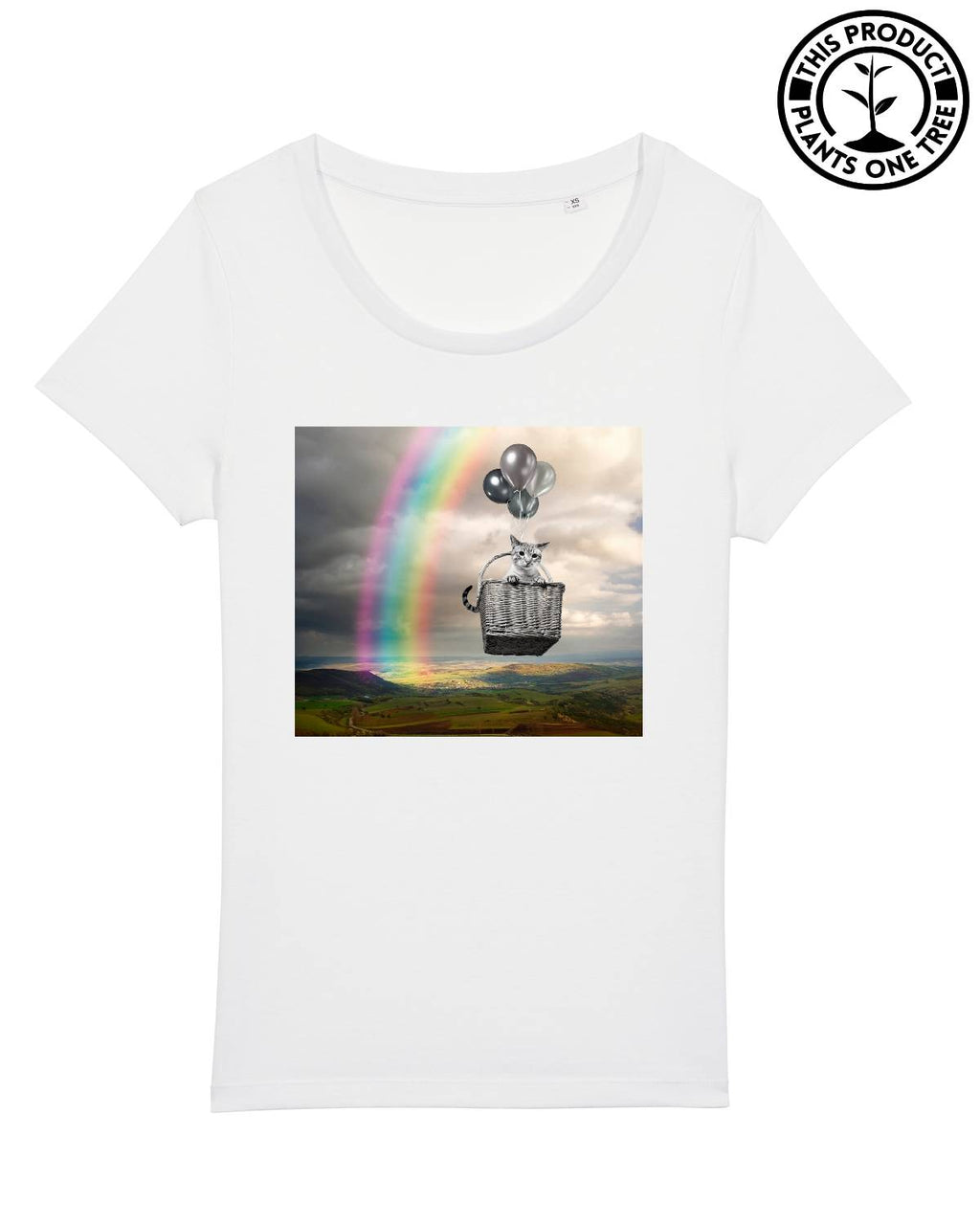 Cat Dream Feminine T-shirt