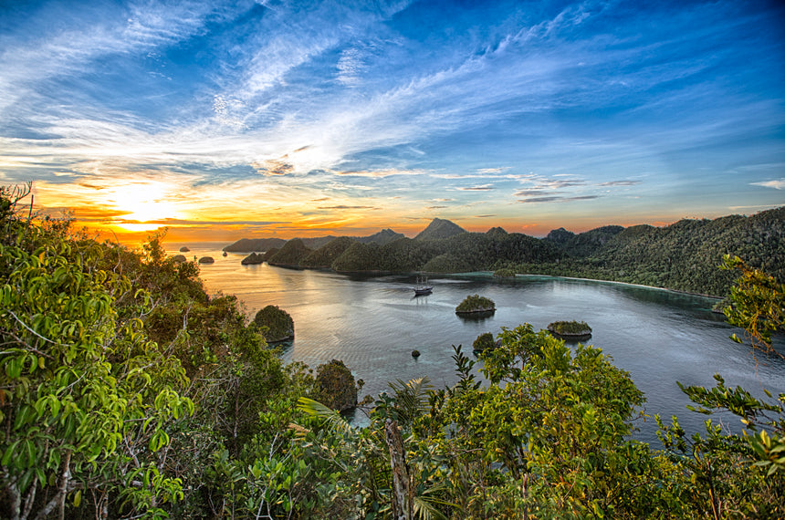 From Up Top - Raja Ampat, Indonesia