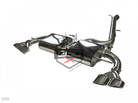 "EGO-X 3"" Catback Exhaust For Volkswagen Golf R (MK7)"