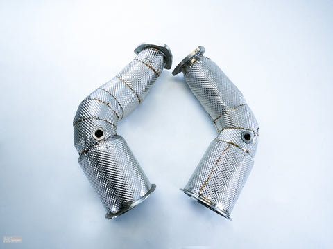 Bull-X Downpipes For Audi RS5 (B9)