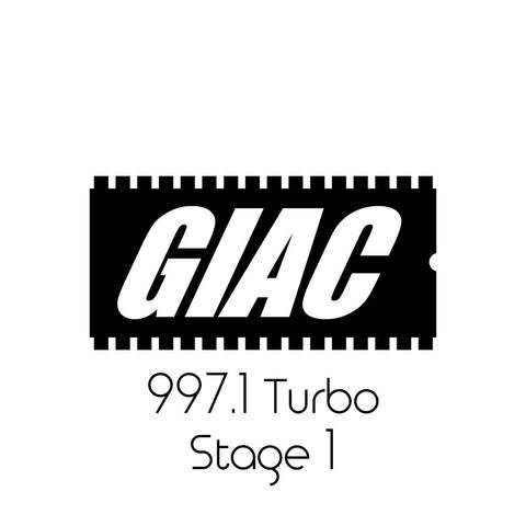 Porsche 997.1 Turbo GIAC Stage 1 Performance ECU Software Upgrade