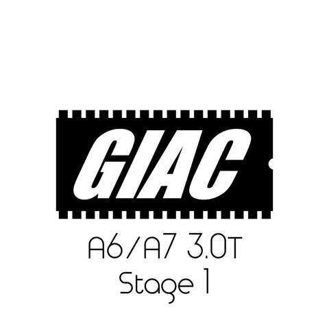 Audi A6 / A7 3.0T GIAC Performance ECU Software Upgrade