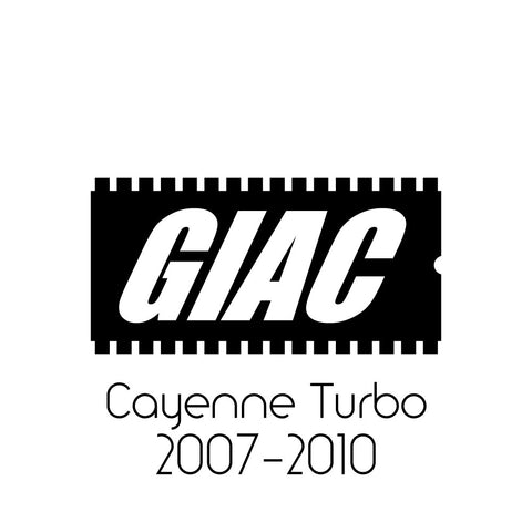 Porsche Cayenne Turbo (S) (2007-2010) GIAC Performance ECU Software Upgrade