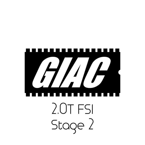 Volkswagen MKV 2.0T FSI GIAC Stage 2 Performance ECU Software Upgrade