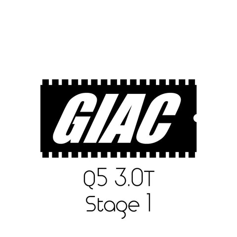 Audi Q5 3.0T GIAC Performance ECU Software Upgrade