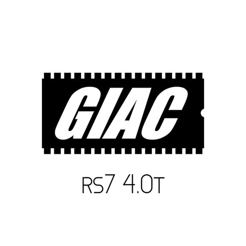 Audi RS7 4.0T GIAC Performance ECU Software Upgrade