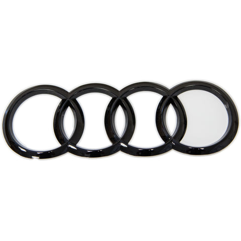 Gloss Black Trunk Rings For Audi A5/S5 Sportback (B9)