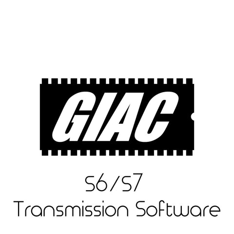Audi S6 / S7 4.0T GIAC Performance S-Tronic Transmission Software Upgrade