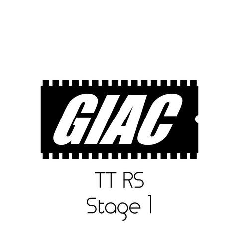 Audi TT RS 2.5 TFSI GIAC Stage 1 Performance ECU Software Upgrade