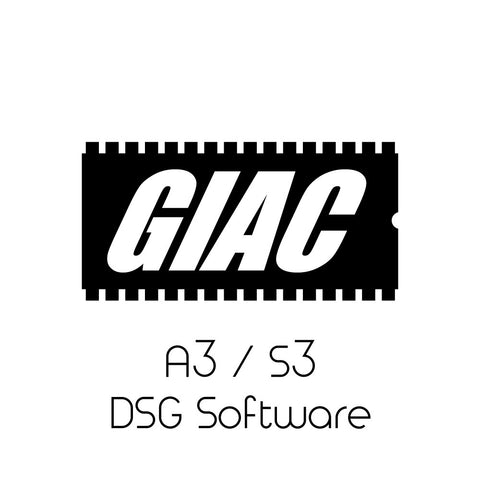 Audi A3 / S3 (8V) GIAC DSG Transmission Software