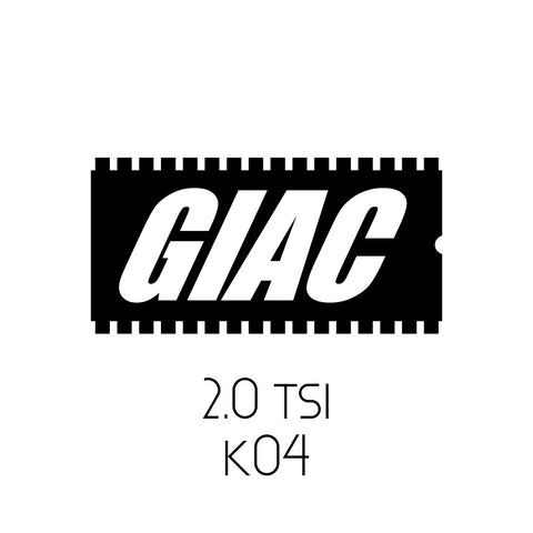 Volkswagen 2.0 TSI MKVI GTI / GLI / CC / Tiguan / Beetle GIAC K04 Performance ECU Software Upgrade
