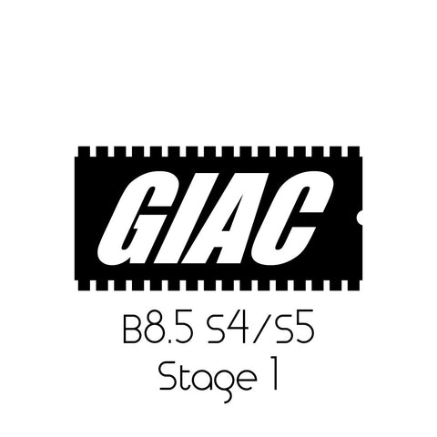 Audi S4/S5 3.0T B8.5 (2013+) GIAC Stage 1 Performance ECU Software Upgrade