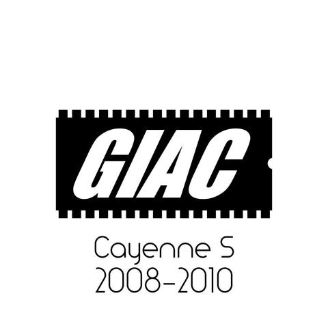 Porsche Cayenne S DFI (2008-2010) GIAC Performance ECU Software