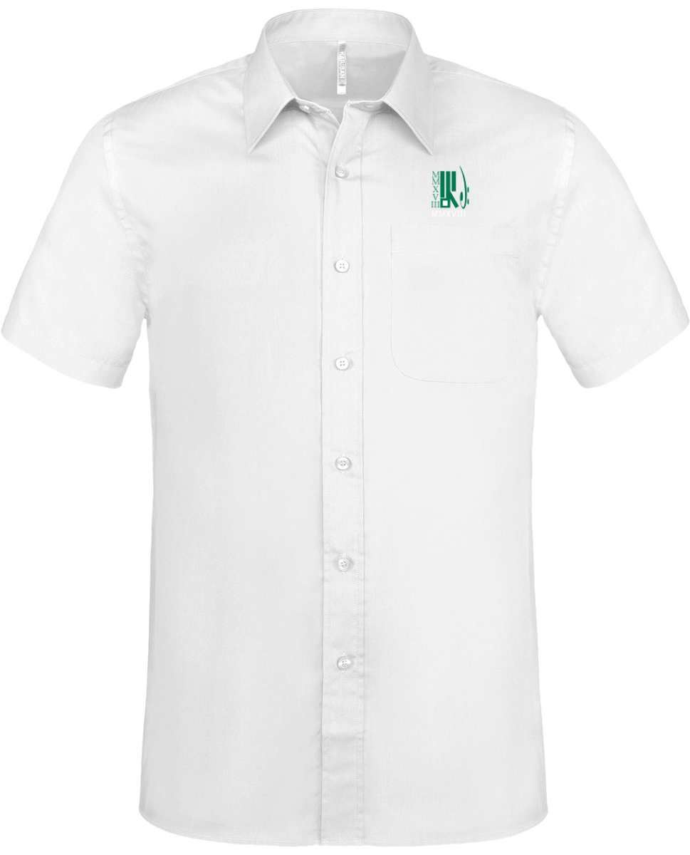 Chemise Manches Courtes Homme MMXVIII