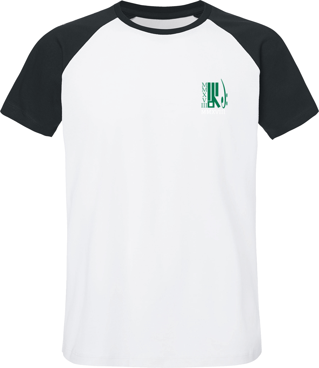 T-shirt Unisexe Baseball Short Sleeve MMXVIII