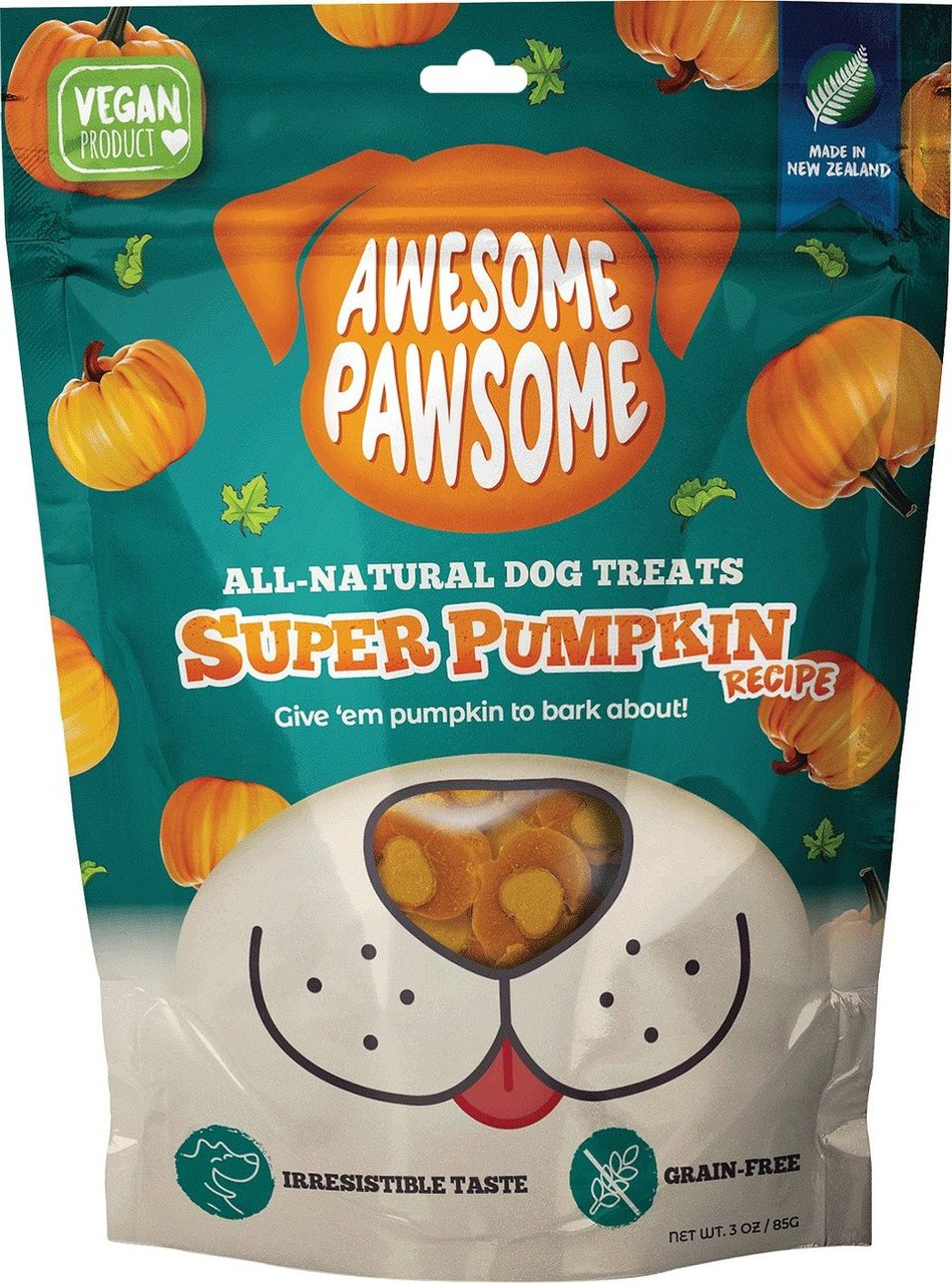 Awesome Pawsome Pumpkin Dog Treats