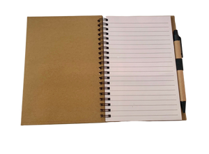 HUHA notebook with pen