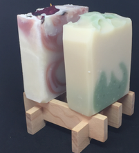 Load image into Gallery viewer, Macrocarpa kumiko soap rack