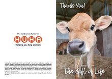 Load image into Gallery viewer, $100 Gift of Life card - bobby calf