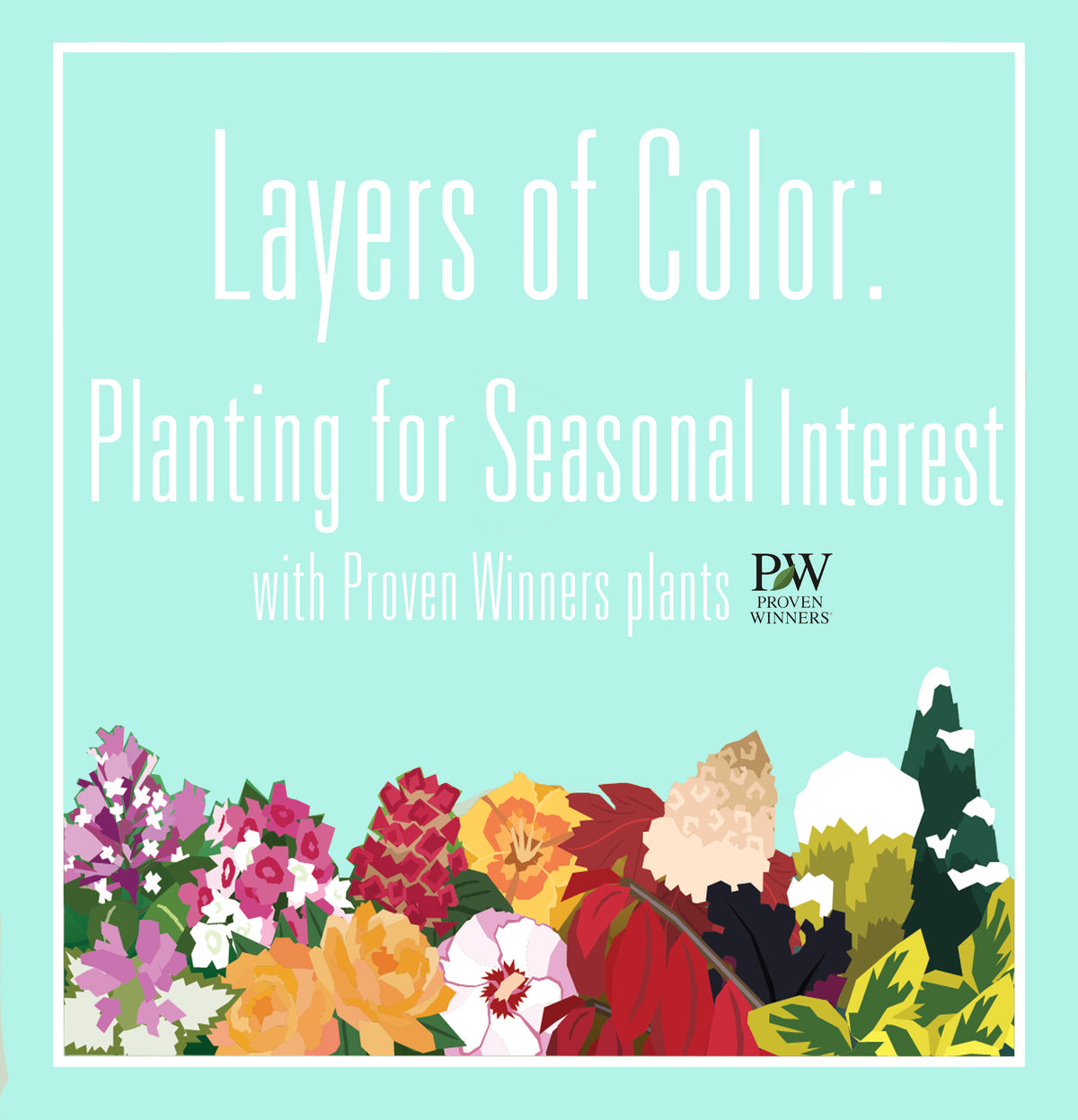Planting for Year Round Color 🌺🍂🌲