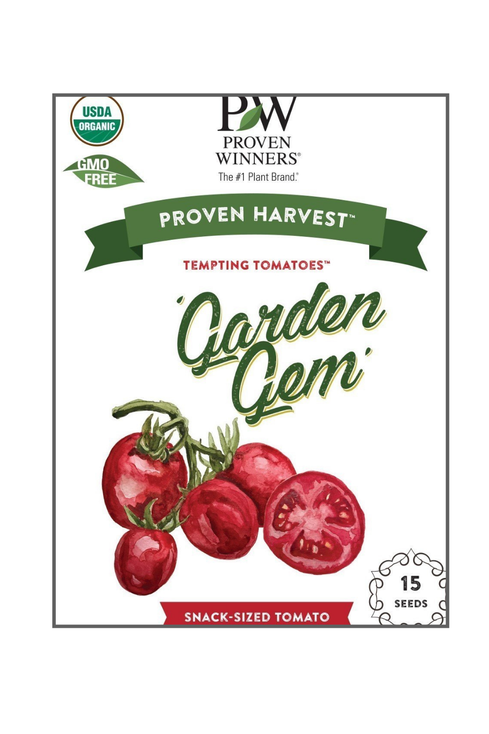 Seeds Tempting Tomatoes™  'Garden Gem'  (Lycopersicon)