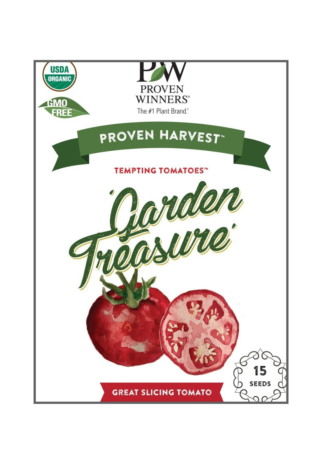 Seeds Tempting Tomatoes™  'Garden Treasure' (Lycopersicon)
