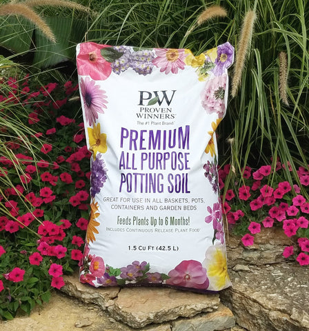 Premium All Purpose Potting Soil, 1.5 cu. ft.