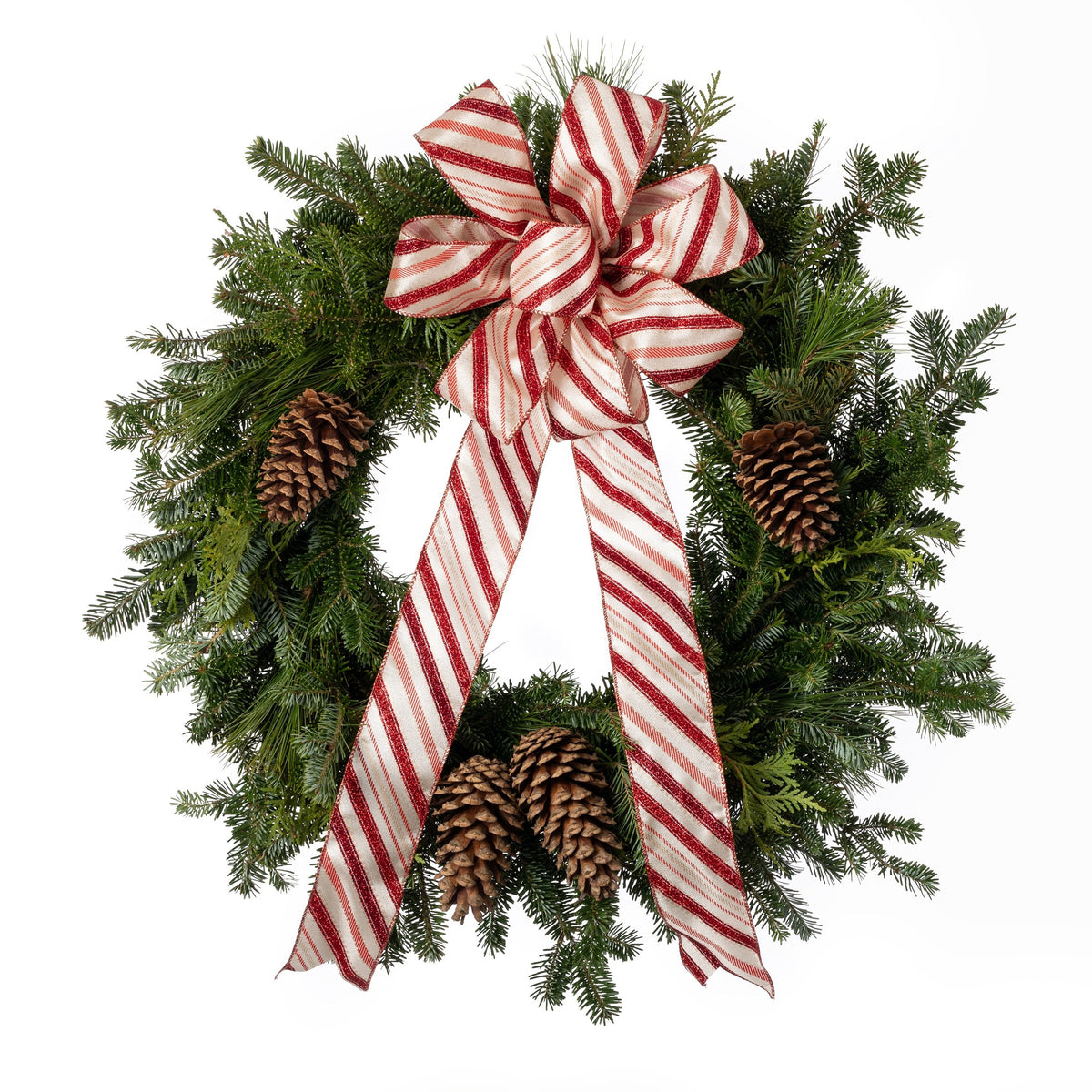 PRE-ORDER Candy Cane Wreath