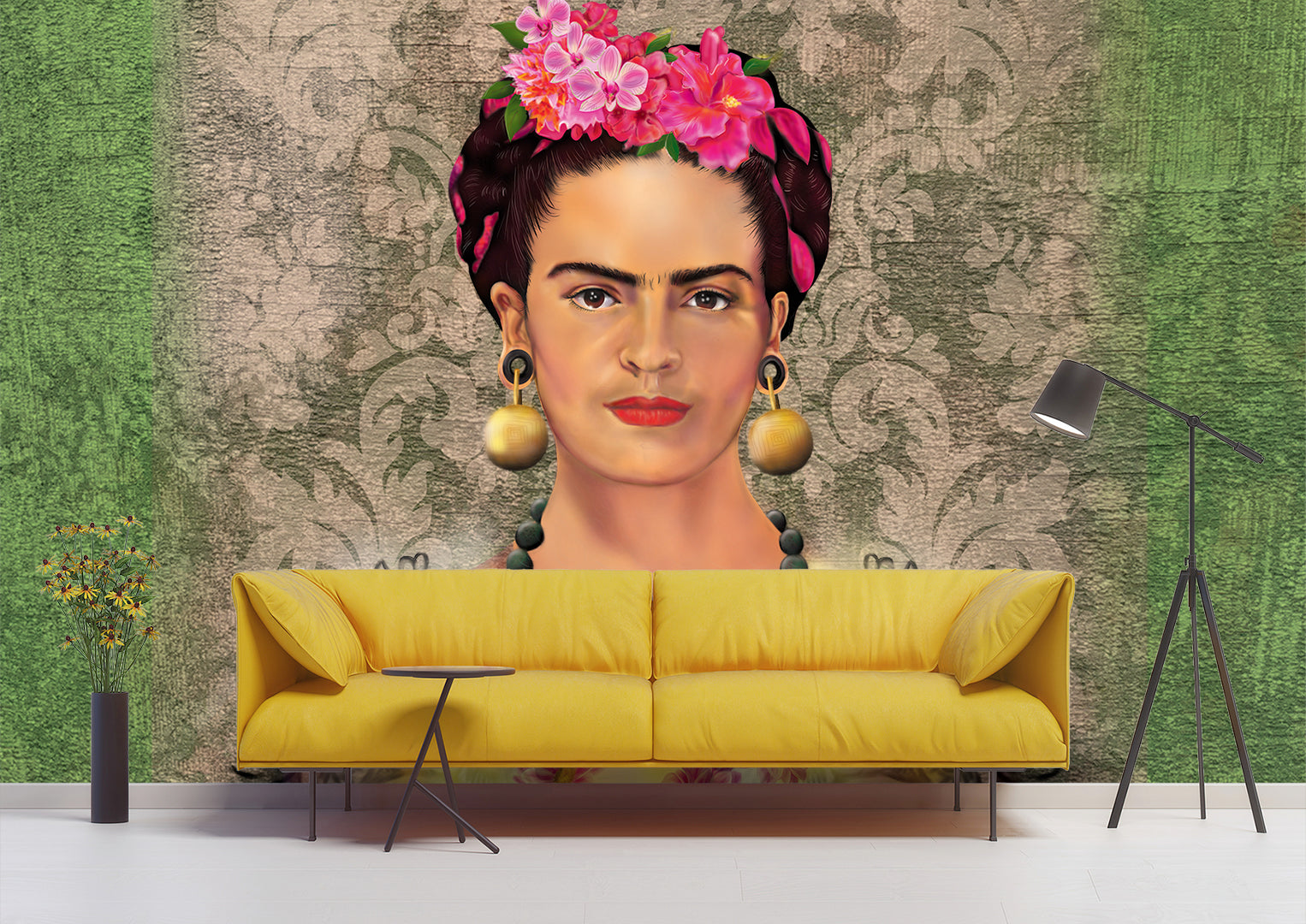 Flowers of Frida Wallpaper