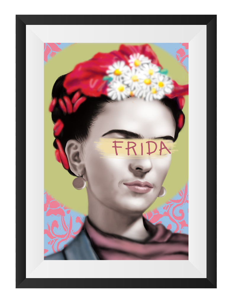 Frida Bow Art