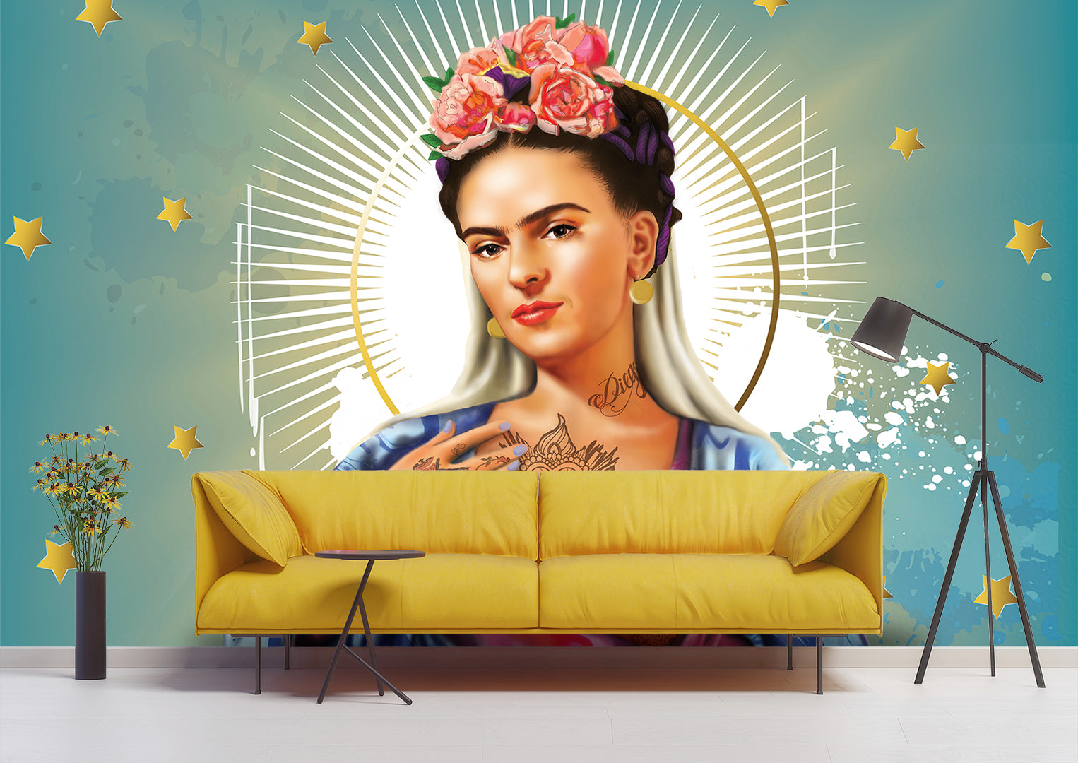 Virgin Frida Wallpaper