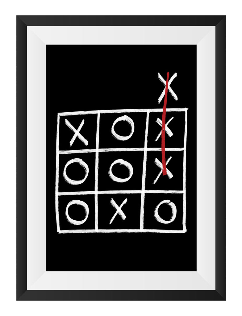 Noughts & Crosses Art