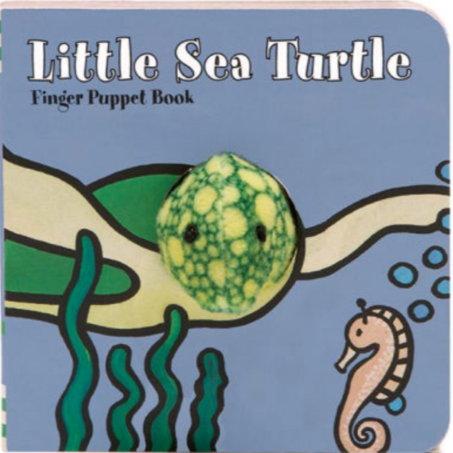 Little Sea Turtle Finger Puppet Books