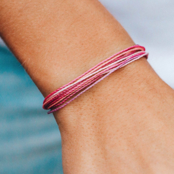 It's the bracelet that started it all. Each one is handmade, waterproof and totally unique—in fact, the more you wear it, the cooler it looks. Grab yours today to feel the Pura Vida vibes. 100% Waterproof Wax-Coated Iron-Coated Copper
