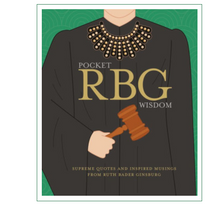 Load image into Gallery viewer, Pocket Ruth Bader Ginsburg Wisdom Book