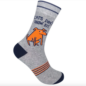 Funatic Cats Don't Know Sit Socks