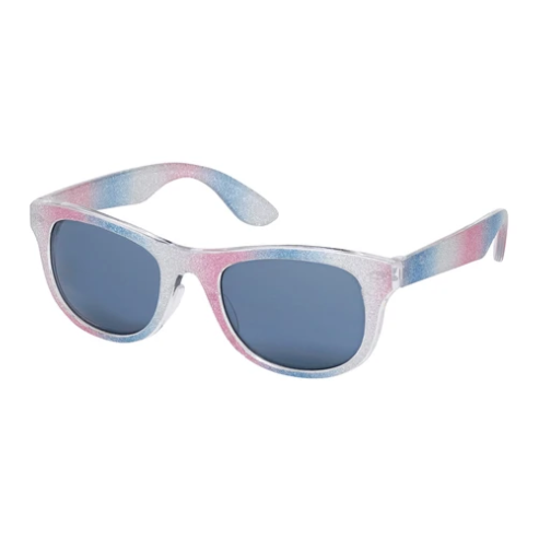 Blue Gem Kids Glitter Sunglasses in Style #K6951