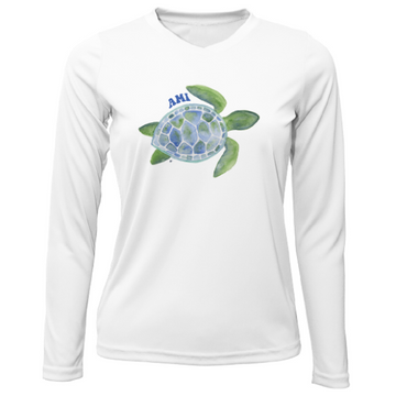 Sea Turtle AMI Women's Dry Fit Long Sleeve  UPF 30