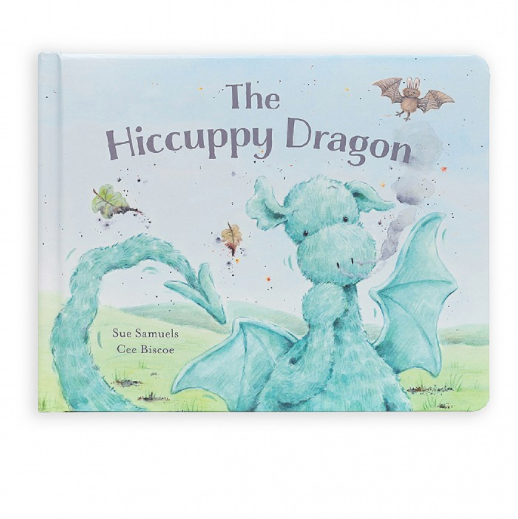 The Hiccupy Dragon is a gentle adventure about a dragon with a very loud problem! This silly-sweet story has a gorgeous hardback cover and beautiful colourful illustrations. A magical story about hiccups and friendships!