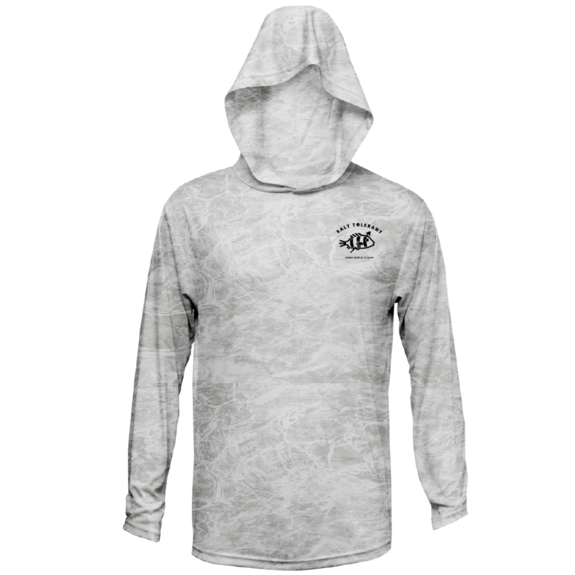 UPF Long-Sleeve Hoody Spearfish Dry Fit Shirt
