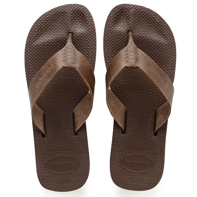 havaianas mens urban special sandals in brown